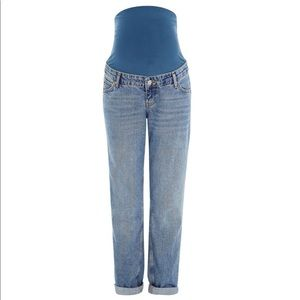 Topshop Maternity mom high waisted jean